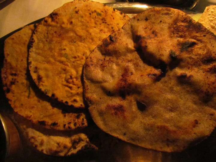 Rotis served with theThali