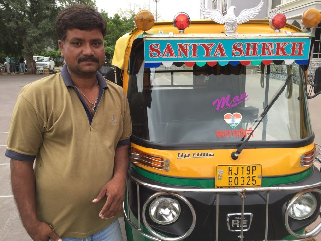 Mr. Sher Khan, our auto wallah