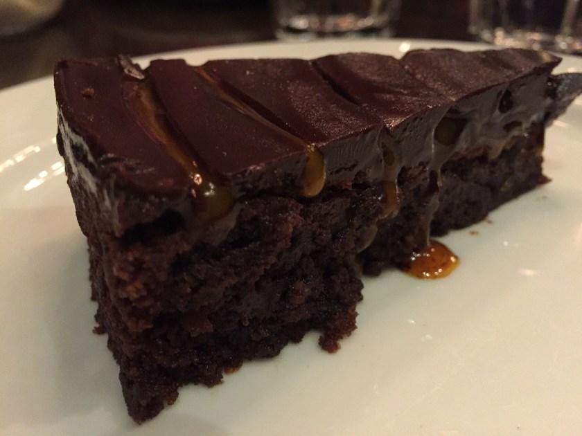 choco layered cake