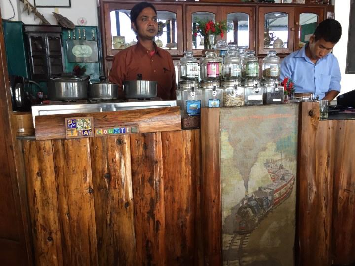 tea counter