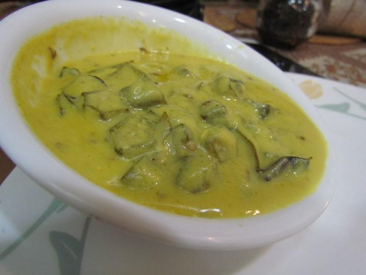 Bhindi Kadhi