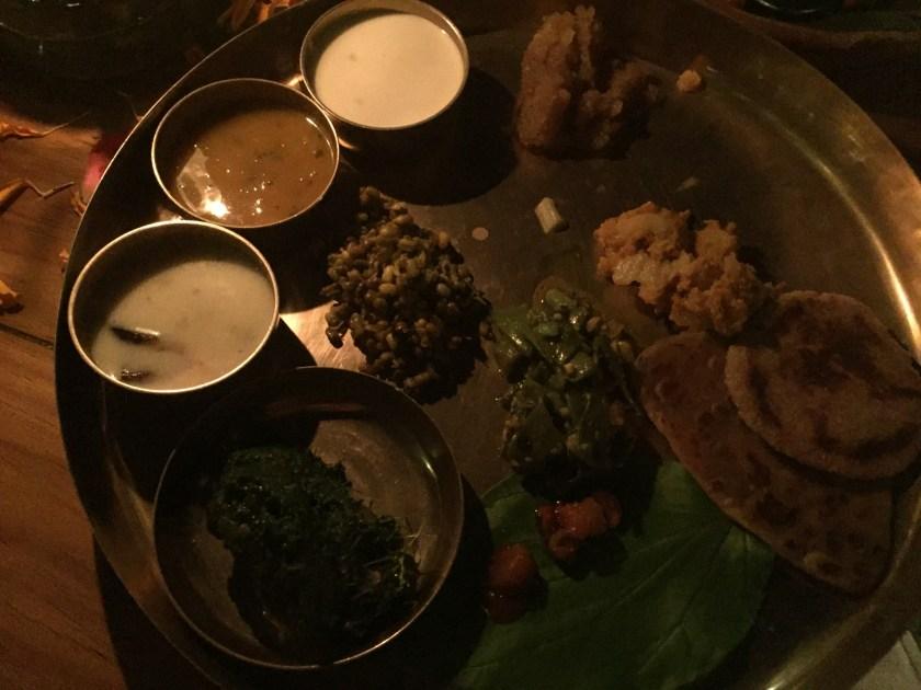 Fangavelu kathol - on the thali