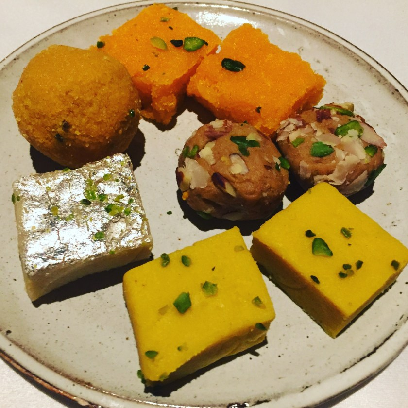 assorted indian sweets