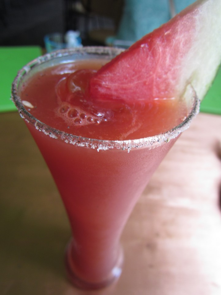 Watermelon aguas Fresca