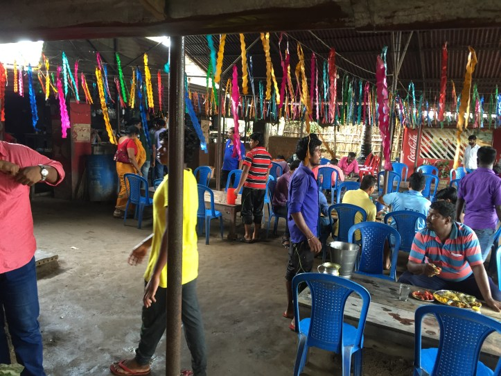 inside the dhaba