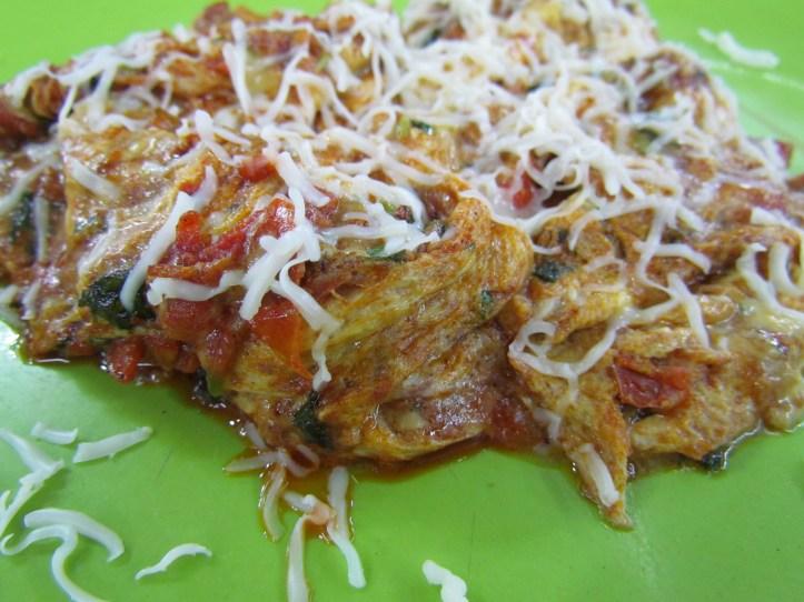 malai tikka omelet