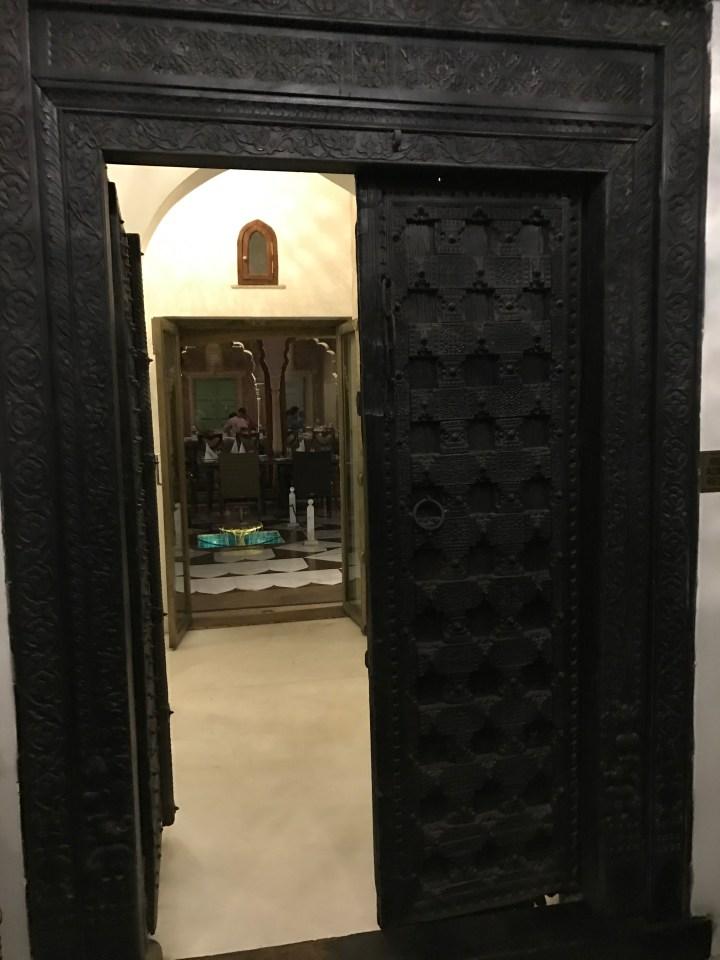grand entrance door