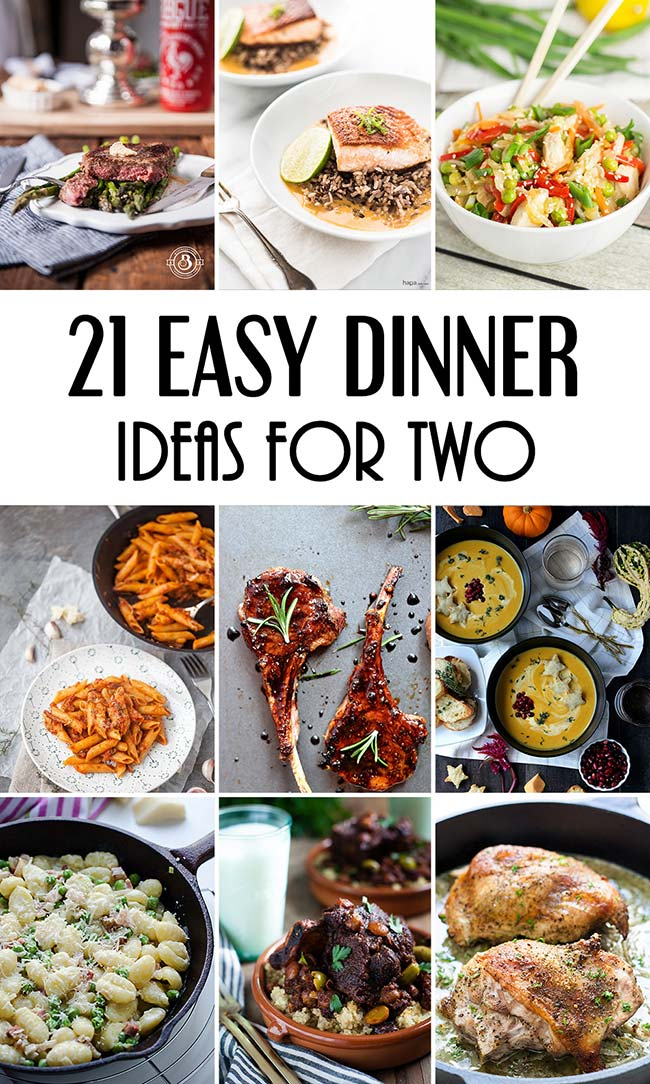 Easy Dinner Recipes Two