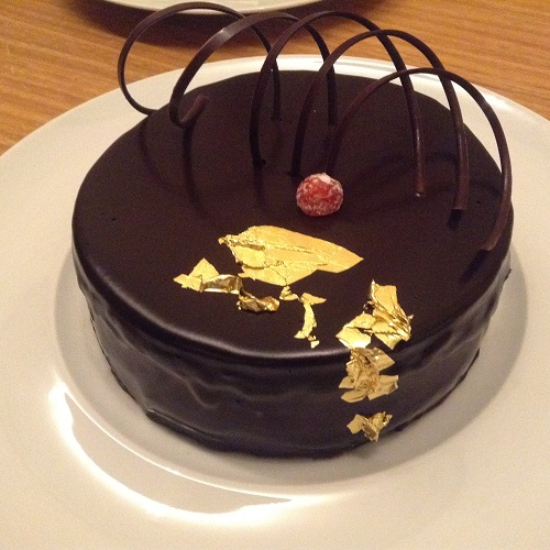 solaire chocolate cake