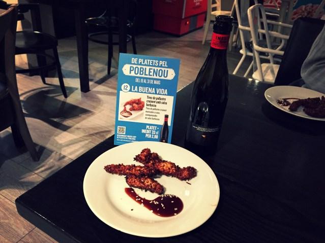 la buena vida de platets pel poblenou ruta gastronomica