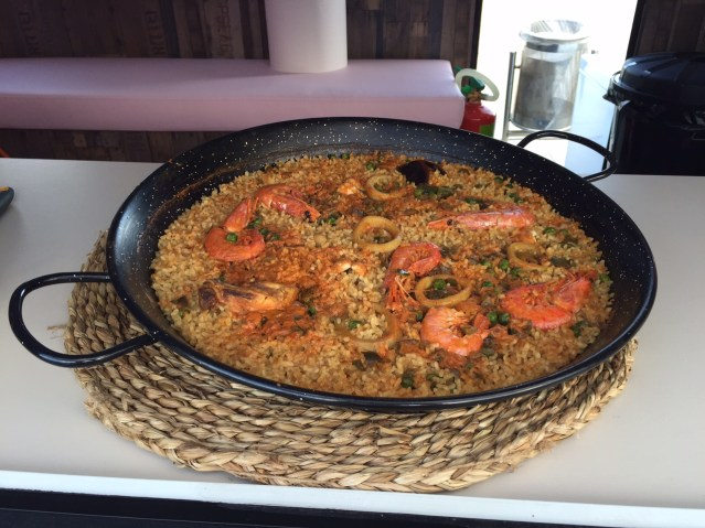 food truck ROMA paella