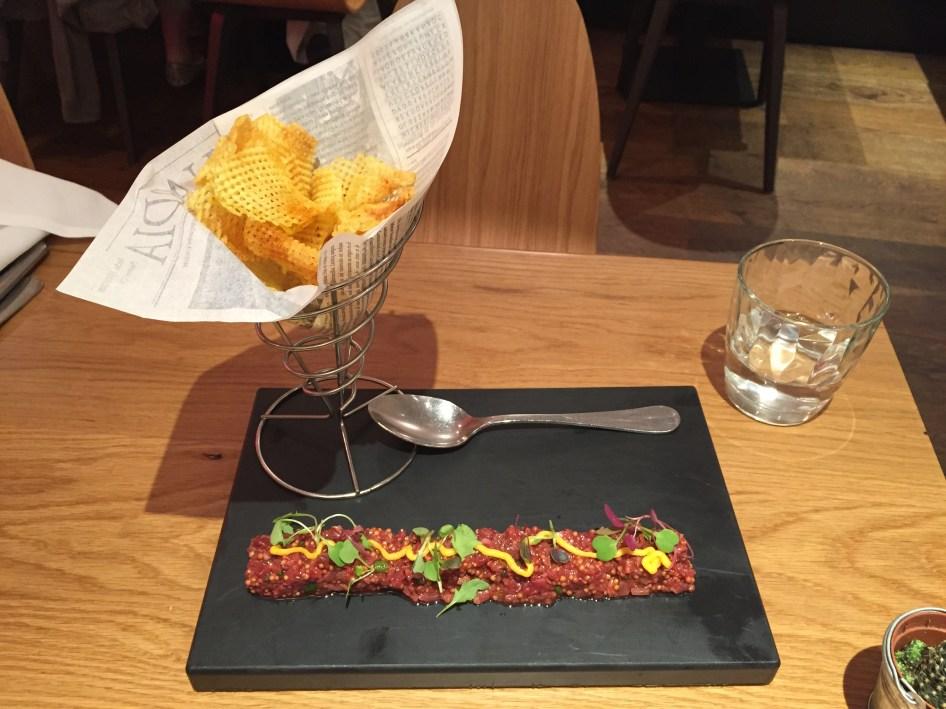 taberna milgritos steak tartar