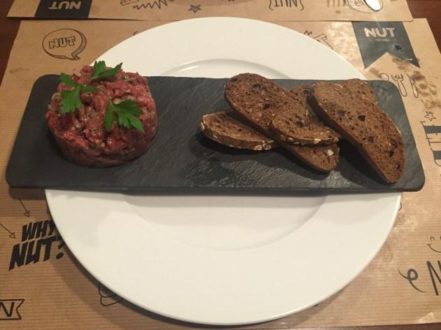 nut gastrobar steak tartar