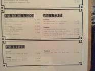 carta y menu del restaurante nut gastrobar