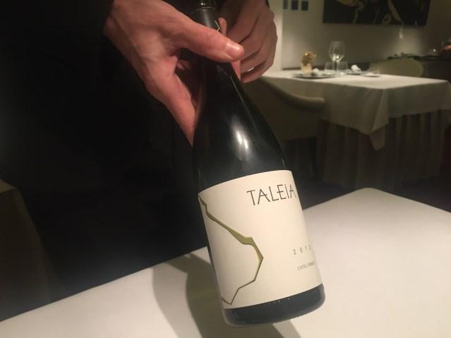 restaurante abac Taleia 2013 Castell D'Enclus.