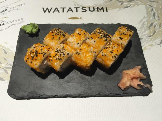 watatsumi Uramaki Spicy Langostino