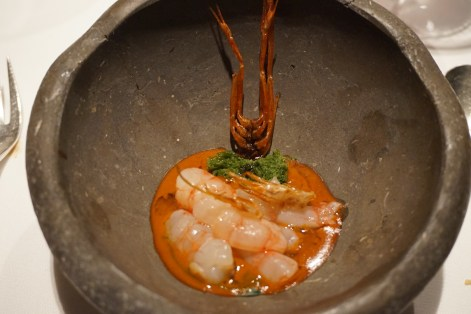 el celler de can roca 2016 gamba marinada