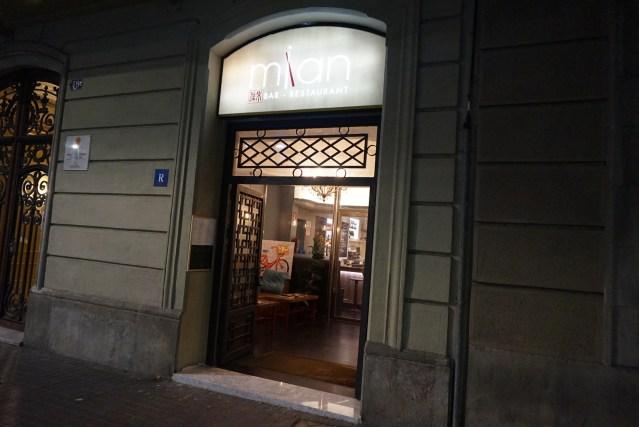 mian restaurante barcelona