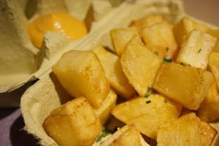 restaurante verne barcelona Patatas Bravas