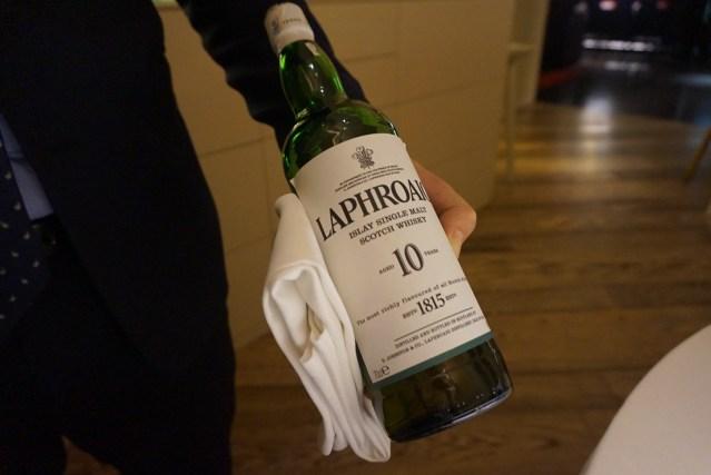 kresios restaurante Whisky Laphroaig Reserva 10 Años