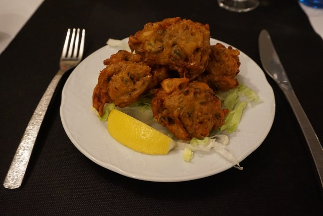 restaurante sitar vegetable pakora