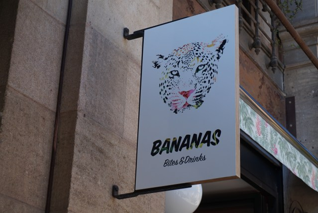 restaurante bananas barcelona