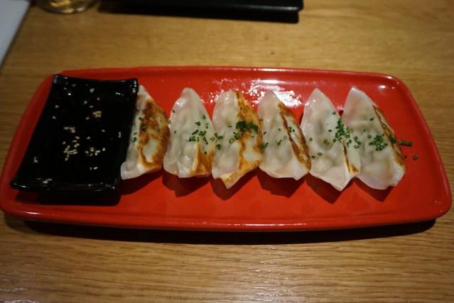 Nakashita Restaurante Gyozas