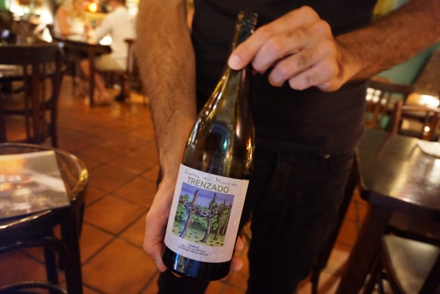 restaurante el pla Suertes del Marqués Trenzado 2014 es un Vino Blanco de Tenerife D.O. Valle de La Orotava