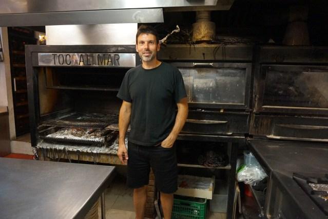 Santi Colominas, cocinero del Toc al Mar