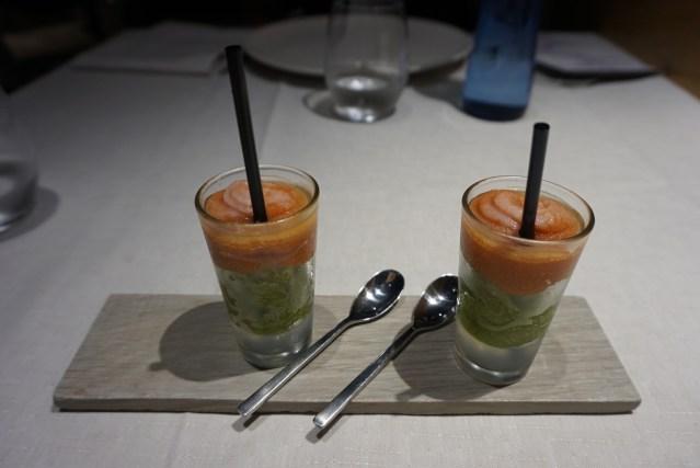 Restaurante Filigrana Aperitivo de Bloody Mary