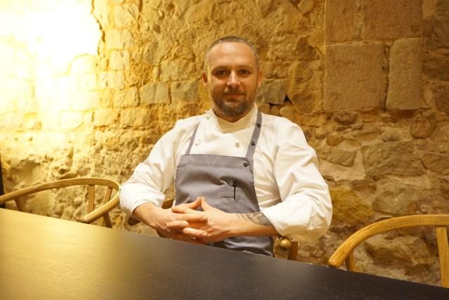 Chef Harry Wieding del Mercer Restaurant