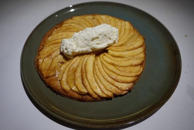 Solomillo Restaurante Tarta fina de manzana