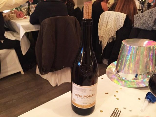 Restaurante Villa Mercedes Vino Tinto Pomal Reserva D.O. Rioja