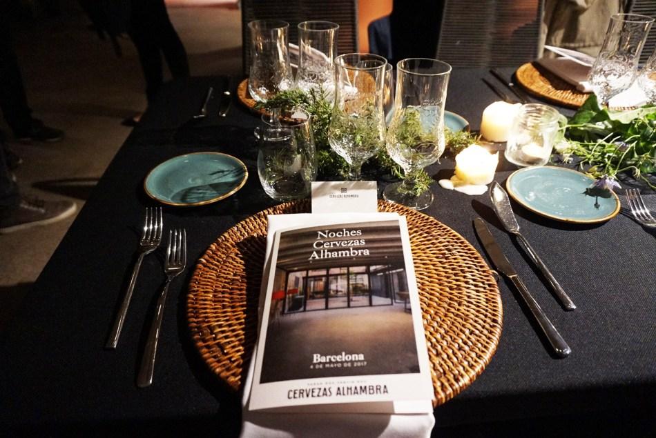 Noches Cervezas Alhambra con la propuesta del Chef Karlos Bernal en el espacio Roc35 de Poblenou (Barcelona).