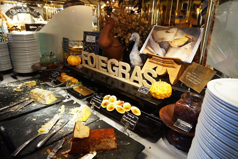 les grands buffets foie gras