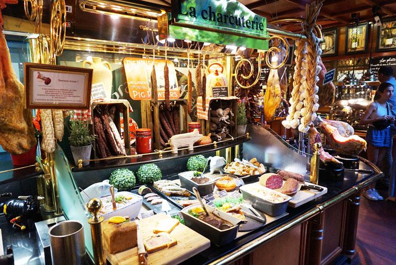 les grands buffets quesos embutidos