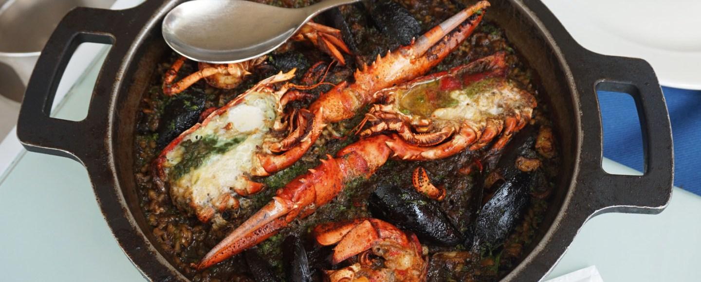 l'arroseria de cunit restaurante arroz caldoso de bogavante