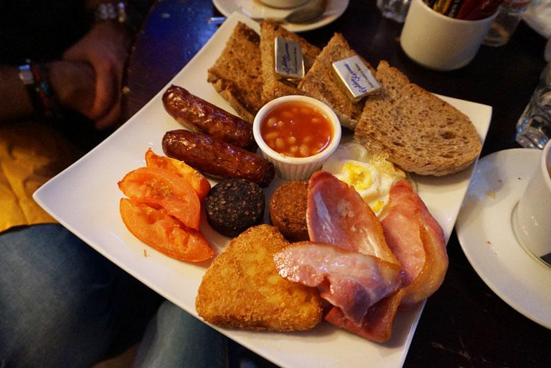 quays irish restaurant Full Irish Breakfast
