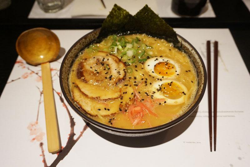 Tonkotsu ramen de miso