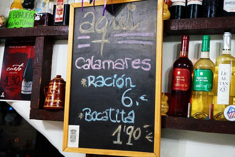 Bar Calderas en Calle del Laurel de Logroño pinchos y tapas