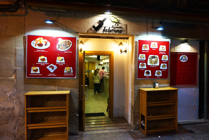 la segunda taverna en calle del laurel logroño