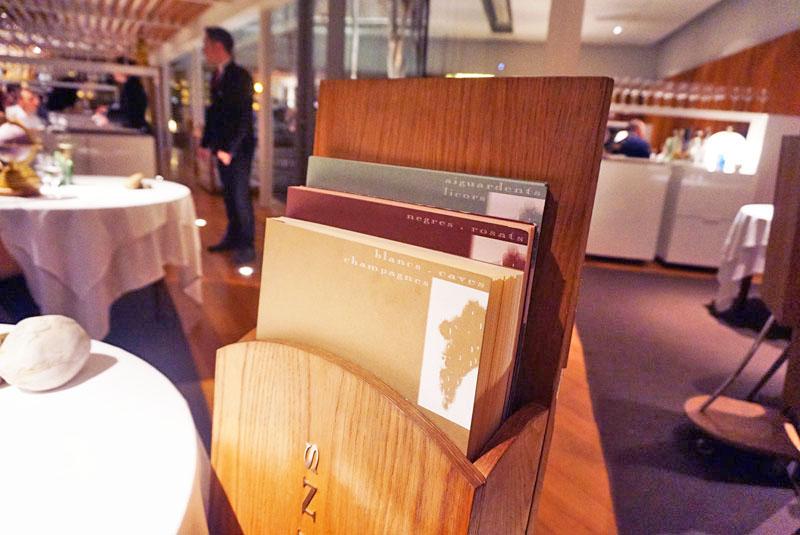 Cartas de vinos 2018 de El Celler de Can Roca
