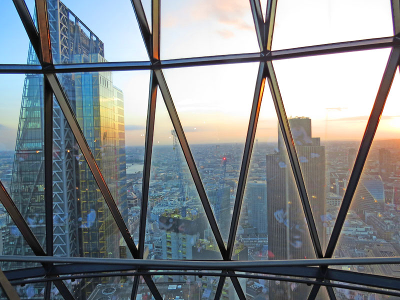 Searcys at The Gherkin restaurant