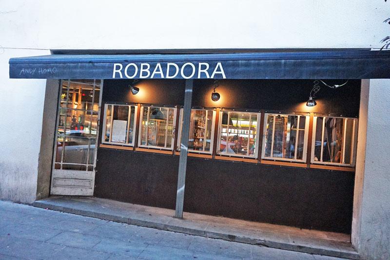 robadora restaurante raval