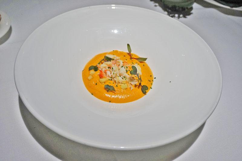 restaurante windsor Salmorejo emulsionado