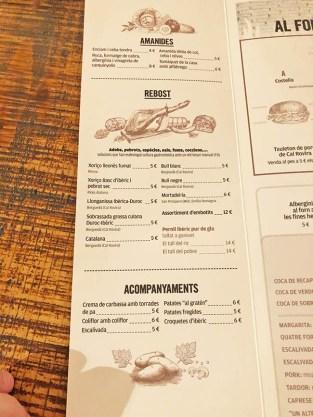 menu carta Pork Boig per tu