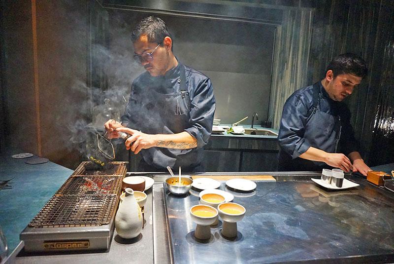 menu degustacion enigma restaurante 2019