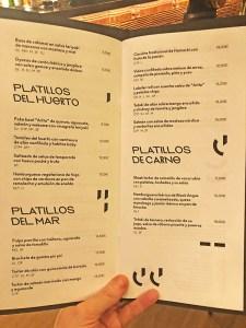 cocteles restaurante artte barcelona