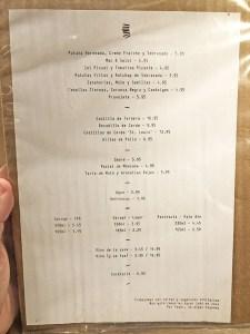 menu fat barbies