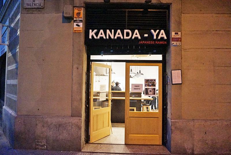 Restaurante Kanada-Ya, Barcelona